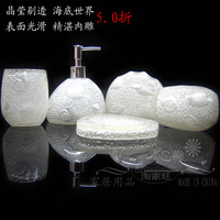 Bathroom Set toiletries kit resin bathroom Wujiantao Creative Cups Set