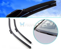 "24""+20"" Frameless Steel Rubber Rain Window Windshield Wiper Blade for AUDI A5 2009 2010 2011 2012/Q5 2009 2010 2011 2012-CA00985"