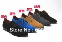 2013 f men oxfords  pointed  toe wedding shoes retro britsh fashion  dress business balmorals derby shoes for men