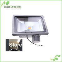 EMS/DHL free shipping 5pcs 110-220V  50W PIR Motion sensor Induction Sense detective Sensor lamp LED Flood Light
