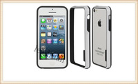 DHL  Free  Shipping    Fashional  2  colors  Plastic  TPU   Bumper Frame for iPhone 5C