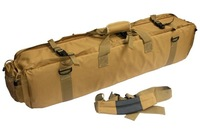 Outdoor products m249 large double layer bag fishing tackle bag fishing rod bag tripod bag