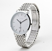 Ultra-thin waterproof women watch fashionable casual lovers table watch women's strip women watch