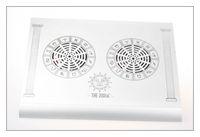Titanium notebook cooling base cooling pad radiator bookishness mount