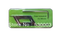 Tool Kit Case Unlock Opening 2-Piece Pack  for XBox 360 Slim unlock kit