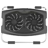 Snowman hlwg laptop cooling pad base mount double fan super
