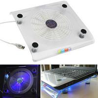 828 laptop cooling pad big fan transparent cooling pad radiator mount quieten blu ray