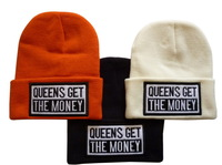 Money Letter Beanie Hats