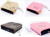 leather USB heated mouse pad hand warmer warm safe and reliable 1pcs
