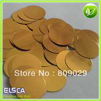 40mm flat sequin  2000pcs  Flat Round Paillettes /Sequins/PET flake, garment/bag accessories,mixed colors acceptable