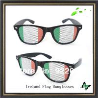 Irrland flag sunglasses promotion sticker sunglasses Estonia LOGO sunglasses Removable stickerasses sungl Promotional sunglasses