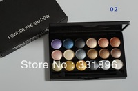 Dropship free shipping Brand makeup MC 18 color Professional #5 powder eye shadow palette 6colors eyeshadow 32g