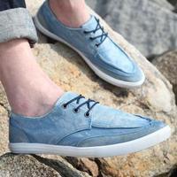 2013 color block decoration canvas shoes male skateboarding shoes  breathable fashion single shoes