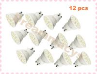(12 pcs) 5W GU10 White 20 SMD 5050 LED Light Bulb Lamp 110v-240v
