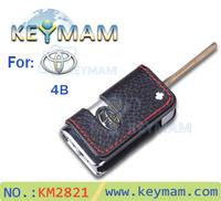 Folding Car Remote Flip Key Shell Case key resolute vehicle camry,Toyota Corolla,Vios,RAV4 car key shell