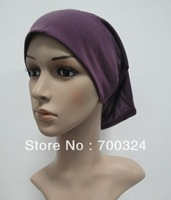 H248b latest designplain tube underscarf,fast delivery,assorted colors