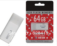 Free Shipping 64GB 32GB USB 2.0 Flash Memory  Drive Stick Drives Sticks Pendrives U Disk Thumb drive