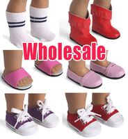 Doll shoes for 18'' american girl doll shoes Wholesale