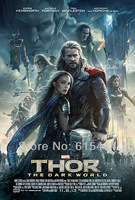 "21 Thor The Dark World 2013 hot movie 24""x35"" inch wall Poster with Tracking Number"