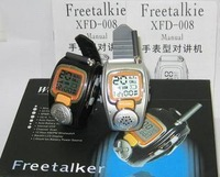 Free Shipping Watch walkie talkie 008 batphone mini radio a pair of