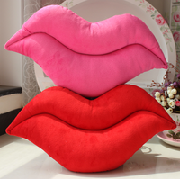 Sexy red lip pillow cushion Sexy Cushion Pillow Sierran Day Gift Sofa Pillow Plush dog  STUFFED TOY BABY CHILD