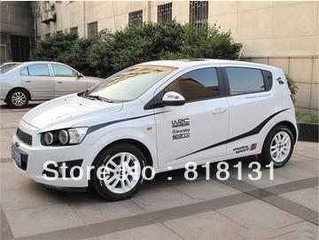 Car Full Body Vinyl Decal Sticker Automotive garland for VW POLO GTI GOLF Chevrolet Aveo(China (Mainland))