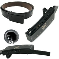 Free shipping mini CAMERA & DVR IN LEATHER BELT BUCKLE