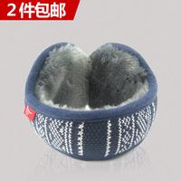Free Delivery Screw thermal earmuffs winter ear package knitted earmuffs yarn lovers ear