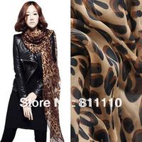 HOT SELL !Trend Knitting  women's scarf fashion sexy Leopard grain design Silk scarves shawls Size 170cm*70cm