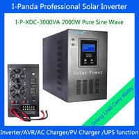 3000VA 2000w Solar inverter with solar energy/utility power complementary power generation system 3000VA DC24V solar system