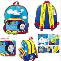 Retail Cartoon Tomas train children boys girls backpacks Kindergarten school bag baby schoolbags kids knapsack