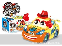 Wholesale Electric cartoon toys LD-102A 3D lights dancing car Shantou toy wholesale