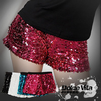 Costume ds lead dancer clothing hiphop jazz dance sexy paillette elastic shorts 2013  Free shipping
