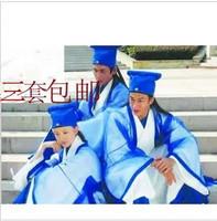 Costume hanfu costume male costume photography clothes whizz-kid school wear