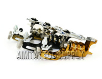 Free shipping handmade rotary tattoo machine 3 colors high quality tattoo machines hot sale