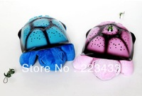 Free shipping, 3pieces=1lot,Turtle led Night Light , projector for children baby Lamp3 light,4 colors Christmas birthday gift