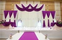1 Set Free Shipping wedding decoration Background shaman wedding yarn decoration curtain wedding props wedding decoration