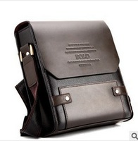 2013 male commercial ol one shoulder cross-body bag men fashion casual bag briefcase PU