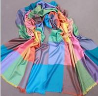Free Shipping 2013 New Fashion Women's 100% Cotton Shawl Scarf Scarves wrap 613156-3