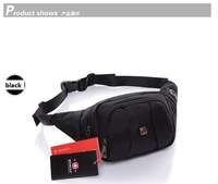 Men Messenger Bag Waist Pack Outdoor Casual Chest Pack Canvas Cross-Body Bag