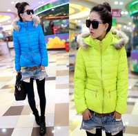 2013 winter slim medium-long thickening women's down coat 8604