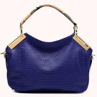 handbag brand Women's handbag female bag female shoulder bag bags 2014 women's handbag crocodile pattern female messenger bag