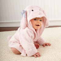 10 Style Hooded Animal modeling Baby Bathrobe/Cartoon Baby Towel/Character kids bath robe/infant bath towel Novelty