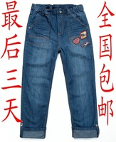 Spring and autumn BALABALA children's clothing male child jeans trousers child trousers 2081111023