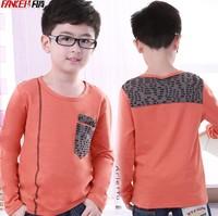 Children's clothing male child long-sleeve T-shirt child t-shirt spring and autumn child 2013 100% basic cotton short-sleeve