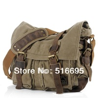 2014 new design big brand washed canvas bag, high quality men's and women's messenger bags, leisure bags, 4 color wholesale