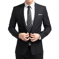 Wedding Suit Free shipping Slim suit set male suit the groom married formal dress blazer  -403