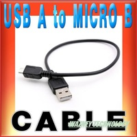 High Speed1 ft 30cm Micro USB Cable 2.0 Charger cable(only can use charge) For Samsung /nokia/htc/blackberry/lg/sony*1800pcs/lot