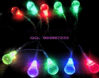 Christmas lights decoration lamp decoration lamp festival lights 1.5 meters colorful crystal battery light