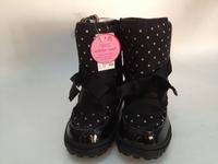 Next children shoes 2013kids   fashion shoes winter  black dot snow boots  wave point snow boots children  black